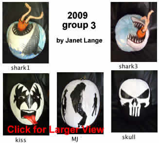 funny jaws shark kiss mj skull pumpkin
