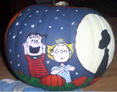 It's the Great Pumpkin Linus snoopy