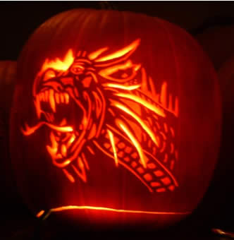 Dragon pumpkin