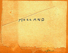 Holland sample 1959
