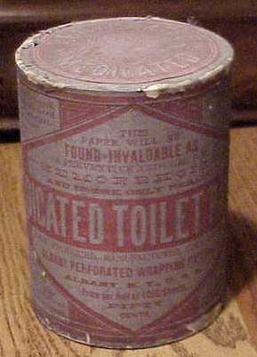 In The 1880s Most Were Sold As Medicated Paper For Treating Hemorrhoids Or Other Health Problems And Decorated With