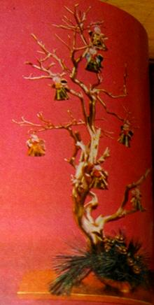 Vintage Gadgetrees Funky Art trees for yule xmas