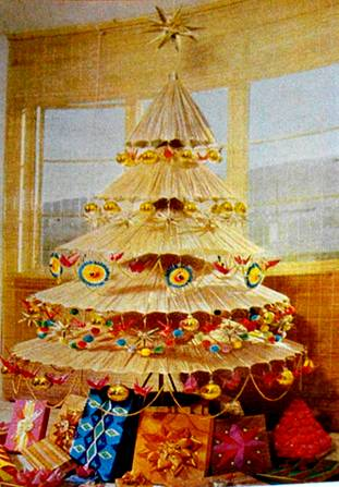 Vintage Gadgetrees: Funky Art trees for yule, xmas, christmas, or ...