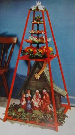 Pyramid Christmas