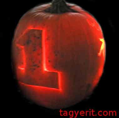 Number One (1) Pumpkin