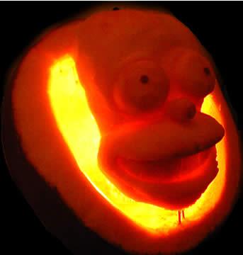 Shrek pumpkin design — 1